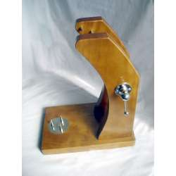 jamonero vertical buarfe modelo patanegra lacádo roble