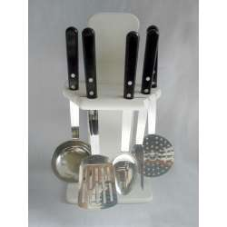 Juego de cocina arcos 5 piezas ref. 9087 blanco