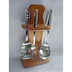 Juego de cocina arcos 5 piezas ref.4105 acero inoxidable