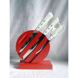 juego de cuchillos cocina arcos 5 piezas acero inoxidable ref.1289
