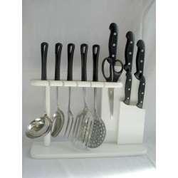 juego de utensilios cocina arcos serie maitre 11 piezas ref.4051 acero inoxidable