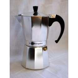 Cafetera de aluminio orbegozo KF600 6 tazas