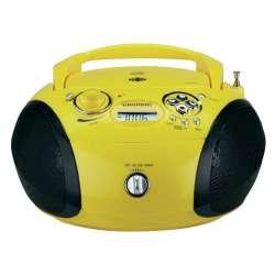 RADIO GRUNDIG RCD 1445 USB GDP6340 YELLOW SUMMER / BLACK STEREO
