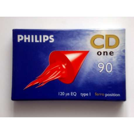 Cassette audio philips CD one 90