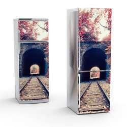 Vinilo Stick art autoadhesivo Transitus frigorifico 200 x 64 cm