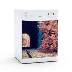 Vinilo Stick art autoadhesivo Transitus lavavajillas 75 x 64 cm