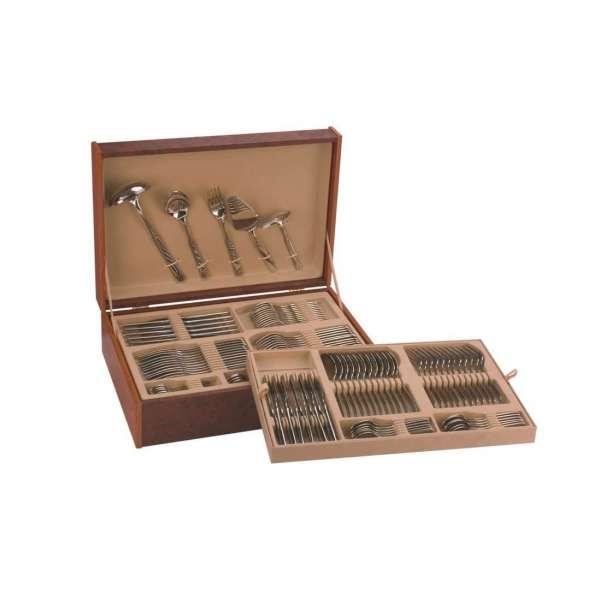 Cuberter a monix venecia 113 piezas acero inox 18 10 for Cuberteria 113 piezas