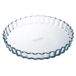 Arcuisine molde tarta vidrio rizado 27 cm