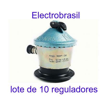 LOTE 10 REGULADORES MONFA MODELO RBP-30