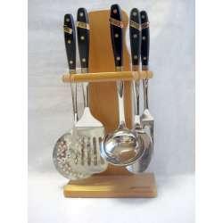 juego de cocina arcos serie regia 5 piezas acero inoxidable 18/10 ref.4125