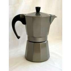 Cafetera de aluminio orbegozo KFS 620 silver 6 tazas