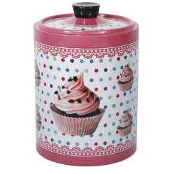 Galletero imf cupcakes bote metalico