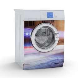 Vinilo Stick art autoadhesivo Street light lavadora 75 x 64 cm