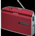 Radio Grundig music 60 portatil GNR 1540 rojo silver