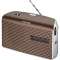 Radio Grundig music 60 portatil GNR 1550 marrón silver